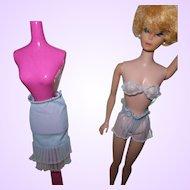 Vintage Barbie Lingerie Set Blue