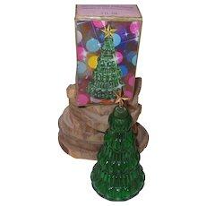 Vintage Avon Yuletree Perfume Bottle/Box