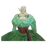 Vintage Barbie Let's Dance Series In Green