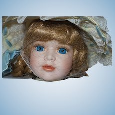 """William Tung Numbered Porcelain """"Hope"""" Doll NRFB"""