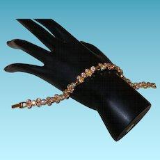 Signed Swarovski Crystal Bracelet