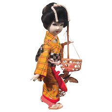 Clearance -  Ningyo Japanese Doll with Original Case