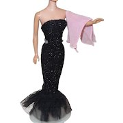 Vintage Barbie Solo in the Spotlight Dress with Scarf and Shoes