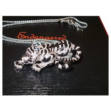 Daniel Lyons Tiger Pendant/Necklace