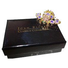 Signed Joan Rivers Bumble Bee Brooch