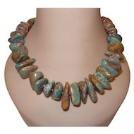 Artisan Created American Turquoise Necklace