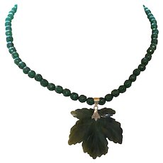 Artisan Created Jade Necklace