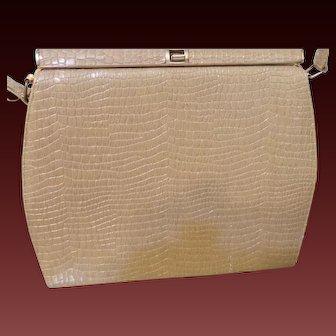 Vintage Embossed Leather Purse