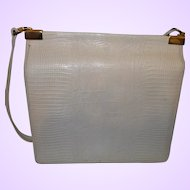 Signed Ann Klein for Calderon Faux Leather Purse
