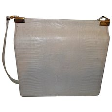 Signed Ann Klein for Calderon Faux Leather Purse
