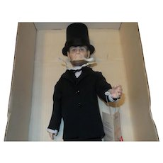 Effanbee Abraham Lincoln Doll in Original Box
