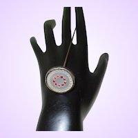 Victorian Swivel Head Hat Pin