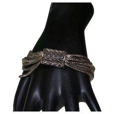 Vintage Twelve Strand Metal bracelet
