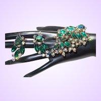 Vintage Unsigned Judy Lee Brooch Three Dimensional Set