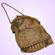 Vintage Whiting/Davis Gold Mesh Bag