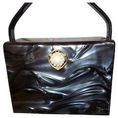 Vintage Style Craft of Miami Lucite Purse