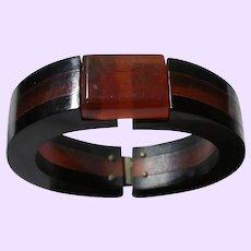 Art Deco Cherry Juice Bakelite Bracelet
