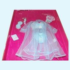 Barbie Fashion Avenue Blue Magnolia Lingerie Set NRFB