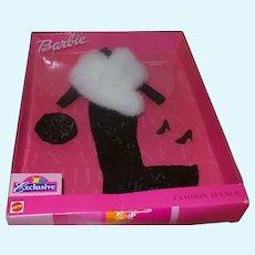 Barbie 2000 Fashion Ave Mezzanine Mink Rare Outfit NRFB