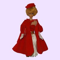 Vintage Barbie Outfits, Red Flare #939, Silken Flame,#977