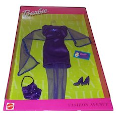 Barbie Fashion Avenue NY Night NRFB