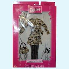 Barbie Fashion Avenue Boutique Leopard Print Wrap Dress
