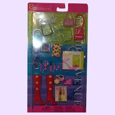 Barbie Fashion Avenue Accessory Collection NRFB