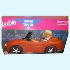 Barbie NRFB Sports Car