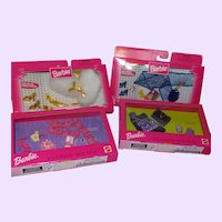 Barbie Fashion Avenue Accessories x 4 NRFB