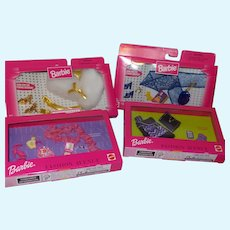 Barbie Fashion Avenue Accessories x 4 NRFB