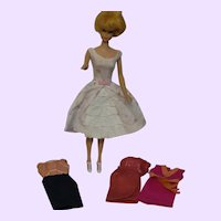 Barbie Outfits #918 Dress, #931 Dress, #3401 Dress, and #1611