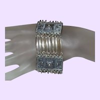 Vintage Mexico Taxco Sterling Silver Bracelet