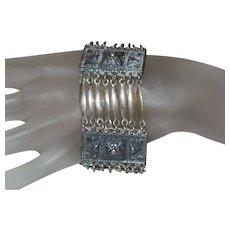 Vintage Mexico Taxco Sterling Silver Bracelet