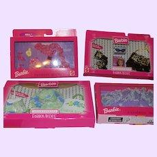 Barbie Fashion Avenue Fashions x 4 NRFB