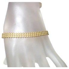 14KYG Made In Italy Tennis Bracelet