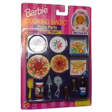 Barbie Cooking Magic Pizza Party NRFB
