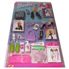 Barbie Fashion Avenue Accessory Bonanza NRFB