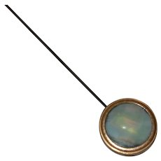 Edwardian MOP Hat Pin