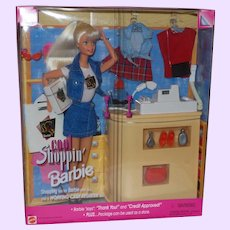 Cool Shoppin' Barbie NRFB With Working Cash Register