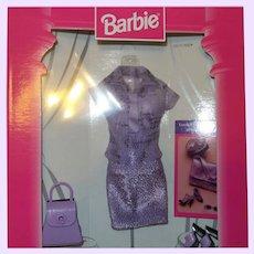 Barbie Fashion Avenue Lavender Colored Outfit # 20576-0980 NRFB