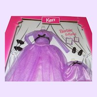 Fashion Avenue Matchin' Styles Barbie and Kelly Outfits NRFB