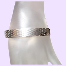 Milor Italian Sterling Silver Link Bracelet