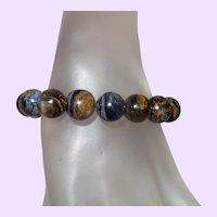 Pietersite Beaded Bracelet