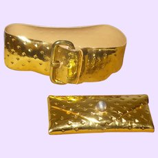 Barbie Golden Belt and Purse #1610