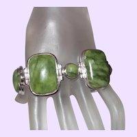 Olivine Ethnic Link Bracelet
