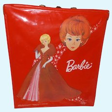 Barbie Doll Bright Red Case 1964
