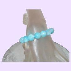 Hemimorphite Blue Bracelet
