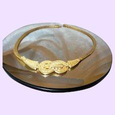 Greek Inspired 18KYG Necklace