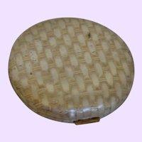 Avon Basket Weave Compact