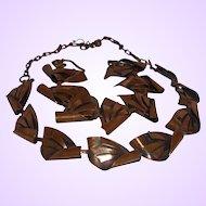 Vintage Copper Necklace and Bracelet